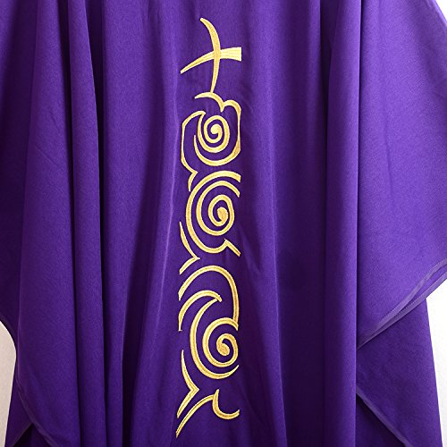 Vêtement Blessume Masse Peignoir Chasuble Vêtements Nbsp; Collier XPuikZ
