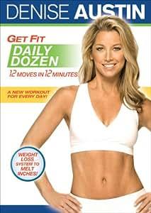Amazon.com: Get Fit Daily Dozen: Denise Austin, Cal Pozo