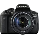 Canon EOS 750D with 18-135mm IS STM Lens - International Version (No Warranty)