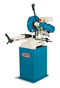 """Baileigh AS-350M Manual Abrasive Chop Saw with Cast Base and Head, 3-Phase 220V, 7.5hp Motor, 14"""" Blade, 4300 RPM Speed"""