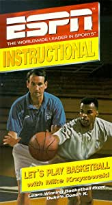 ESPN Instructional: Let's Play Basketball with Mike Krzyzewski [VHS] (1994)