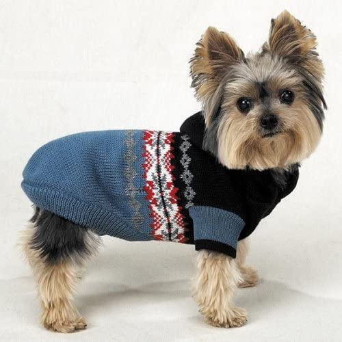 Casual Canine Nordic Hooded Sweater – Extra Small
