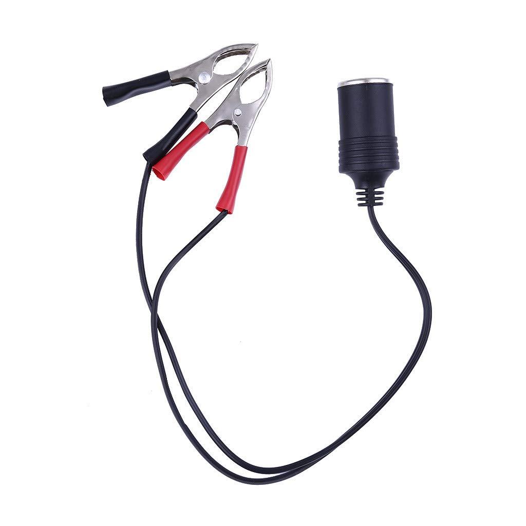 12 V Clips accendino clip adattatore presa accendisigari auto batteria connettore