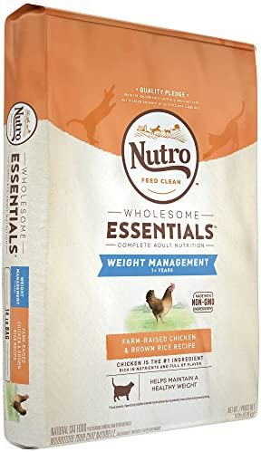 Nutro Wholesome Essentials Weight Management Dry Cat Food, Chicken 4