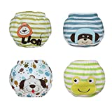 Babyfriend Reusable Baby Boy 4 Packs Toilet Training Pants Diaper Nappy Underwear