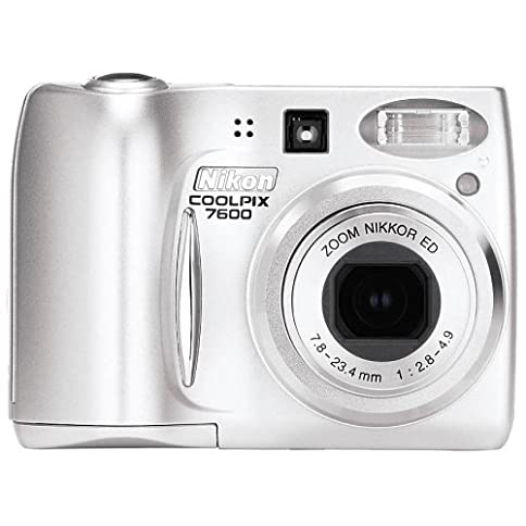 - 51D2SVWHQDL - Nikon Coolpix 7600 7MP Digital Camera with 3x Optical Zoom