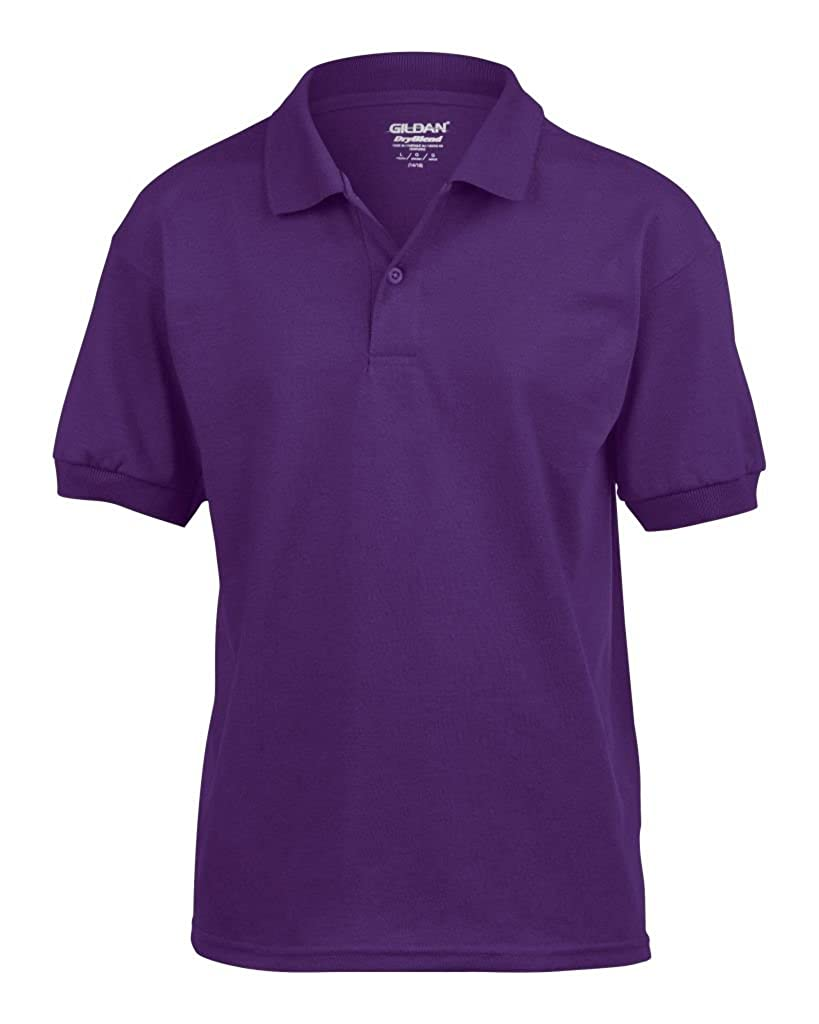 Gildan Kids DryBlend Jersey Short Sleeve Polo Shirt