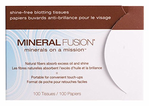 Mineral Fusion Shine-Free Blotting Papers, 100 Count