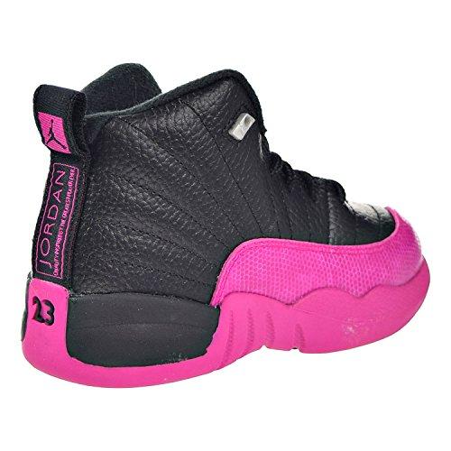 Nike Jordan Retro 12 Dødelig Rosa Svart / Dødelig Rosa (liten Gutt)