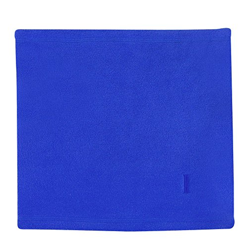 Igloos Women's Microfleece Neck Gaiter, Sapphire, One Size