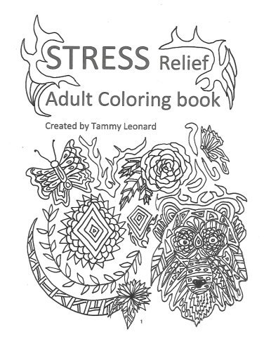 Download Stress Relief Adult coloring book ebook