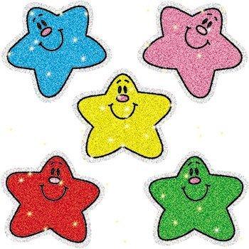 Dazzle Stars Stickers (Stars Dazzle Stickers by Carson-Dellosa)