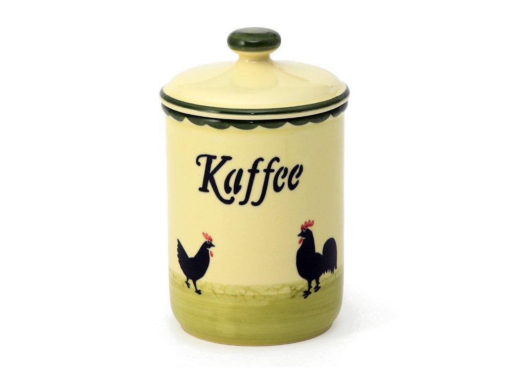 Zeller Keramik Hahn und Henne Vorratsdose Vorratsdose Vorratsdose Kaffe 1,00 LIter B003POFGWU Glasbehlter & Tpfe b0e324