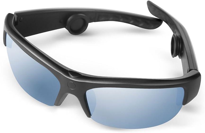 Bone Conduction Sunglasses, AcTek Bluetooth Bone Conduction Headphones Handfree Wireless Headset Open Ear Earphones