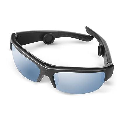 84b7d6d031af Bone Conduction Sunglasses, AcTek Bluetooth Bone Conduction Headphones  Handfree Wireless Headset Open Ear Earphones with