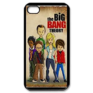 iPhone 4,4S The Big Bang Theory pattern design Phone Case