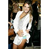 Alessandra Ambrosio Poster by Silk Printing # Size about (60cm x 90cm, 24inch x 36inch) # Unique Gift # 1FD608