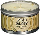 Indigo Wild Zum Glow Soy Candles, Almond
