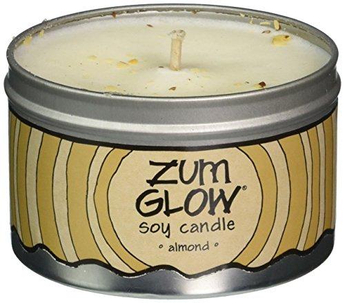 Indigo Wild Zum Glow Soy Candles, Almond by Indigo Wild