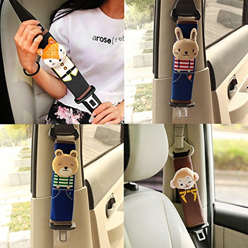 baynne-cute-harness-shoulder-pad-cushion-car-safety-seat-belt-protecting-covercolor-multi-color