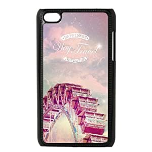 iPod Touch 4 Case Black Way Of Travel OJ624318