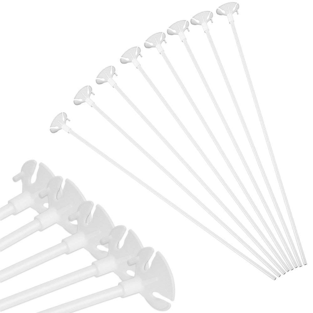 Amazon.com: Holoras - 100 soportes para globos con vasos de ...