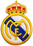"""PO: 2.2"""" x 3.1""""Madrid Football Club Embroidered Iron/sew on Patch"""