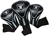 NFL Oakland Raiders 3 Pack Contour Fit Headcover