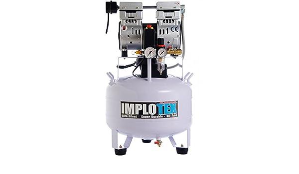 IMPLOTEX - Compresor de aire, silencioso, solo 55 dB, sin aceite: Amazon.es: Libros
