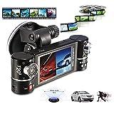 Becoler 2.7 Inch Dual Lens Car Vehicle DVR Dash Cam Two Lens Video Recorder F600 Traffic Dashboard Camcorder