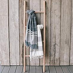Sandstone & Sage Blanket-Ladder | Hand M...
