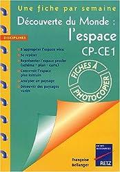 Découverte du monde : l'espace CP-CE1