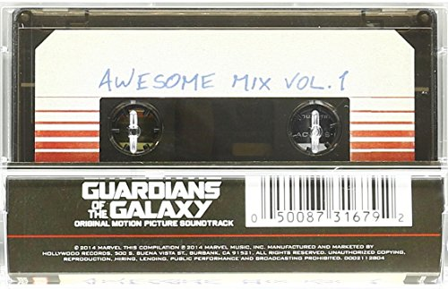 Guardians Galaxy Awesome Vol Cassette product image