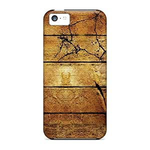 MMZ DIY PHONE CASEiphone 5/5s Cover Case - Eco-friendly Packaging(yellow Wood)