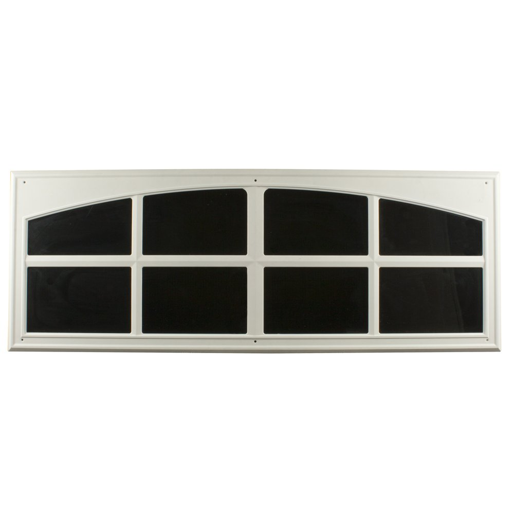 Crown Bolt Crown Bolt 10038 Decorative Faux Garage Door Windows, White, 2-Pack white(Pack of 2)