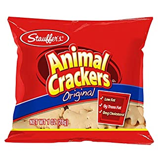 Stauffer's Animal Crackers Original, 1oz. Snack Packs (Set of 20)