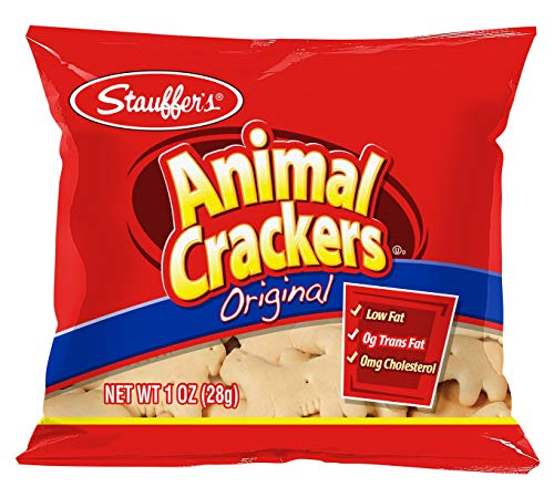 - Stauffer's Animal Crackers Original, 1oz. Snack Packs (Set of 20)