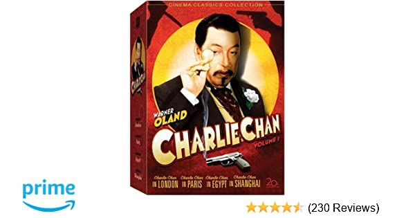 Amazon com: Charlie Chan Collection, Vol  1 (Charlie Chan in