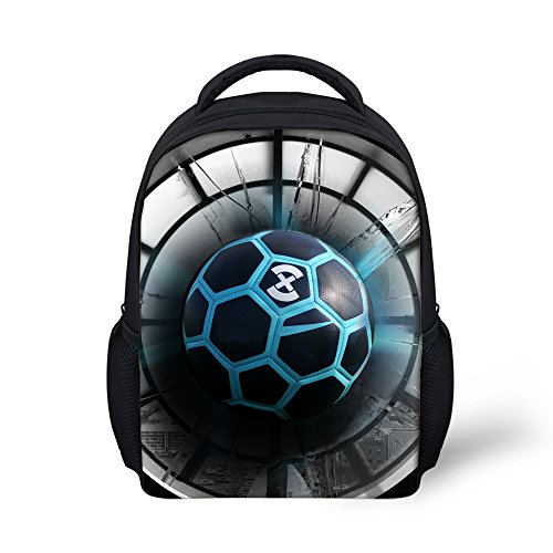 2018 World Soccer Print Toddler Backpack Small Daypack Football Boys Girls ef61499eb3