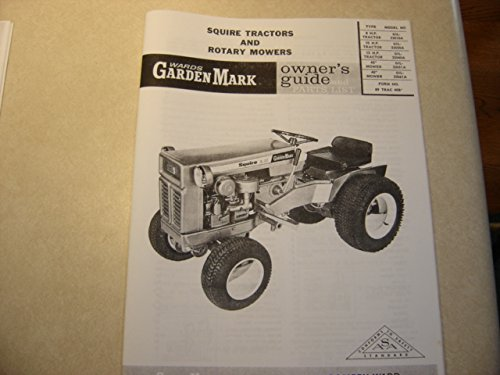 Wards Garden Mark Squire Tractor Manual Gilson
