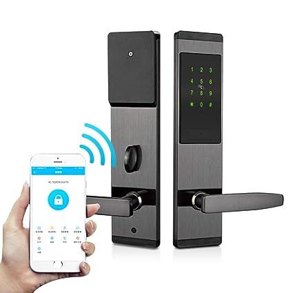 Amazon com: WSBBQ Bluetooth Keyless Lock - Smart Key Safe - Securely