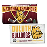 WinCraft UMD Bulldogs 2018 Hockey National Champions Locker Room Towel