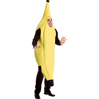 Rasta Imposta Banana Deluxe Adult Yellow One Size  sc 1 st  Amazon.com & Amazon.com: Rasta Imposta Banana Deluxe Adult Yellow One Size ...