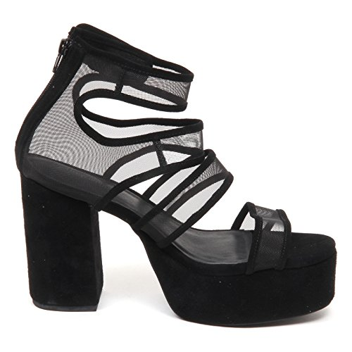 Jeffrey Campbell D9020 Sandalo Donna Nero Catori Shoe Woman Nero