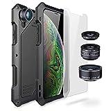 Olixar Titan Clip Armour Protective Case Compatible with iPhone Xs Max - Shock Protection - Tough Protective - Armour Case - Gunmetal