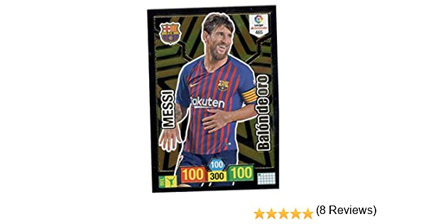 Panini Messi Balón de Oro Adrenalyn XL 2018 2019: Amazon.es ...