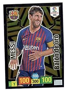 Panini Messi Balón de Oro Adrenalyn XL 2018 2019: Amazon.es ...