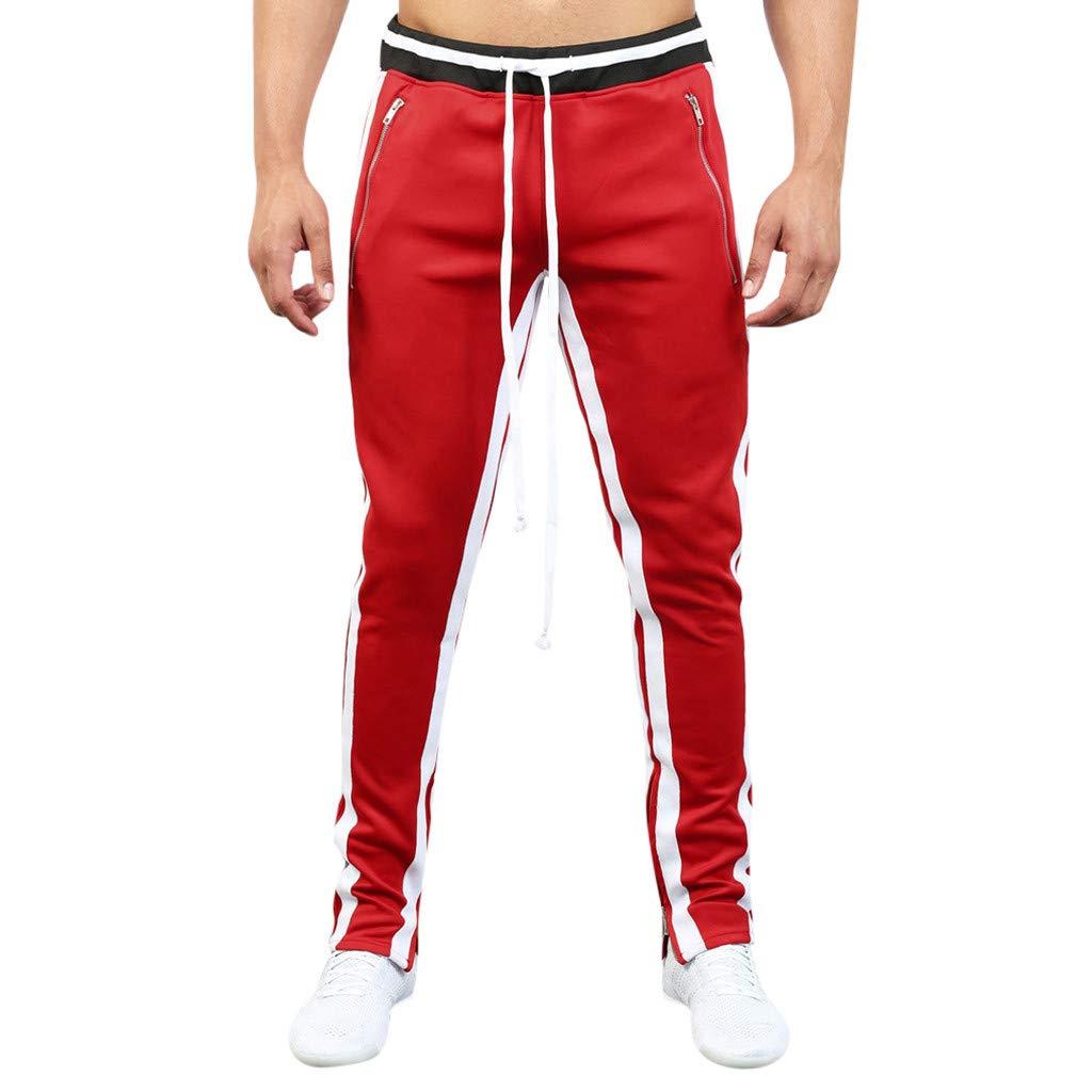 Dreamyth-Pantalón de chándal Suelto Casual para Hombre, con ...