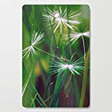 Society6 Wooden Cutting Board, Rectangular, Round dance by maryberg