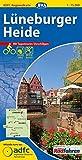 ADFC-Regionalkarte Lüneburger Heide mit Tagestouren-Vorschlägen, 1:75.000, reiß- und wetterfest, GPS-Tracks Download (ADFC-Regionalkarte 1:75000)